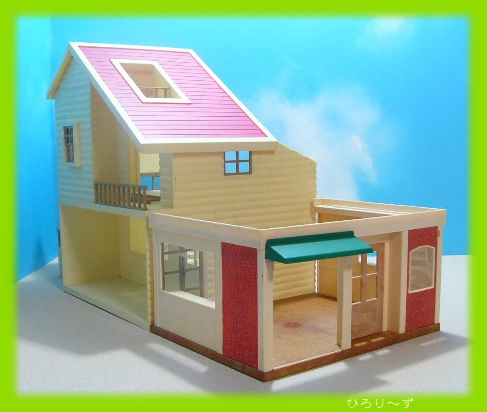 繋がる 赤い屋根の大きなお家 31