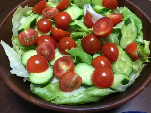 野菜サラダ02
