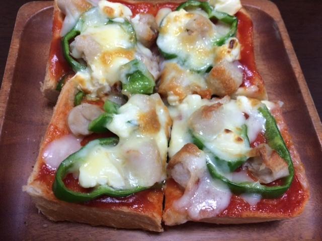 ピザトースト02