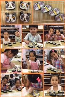 HAPPY COOKING2017夏親子パンダととんぼ