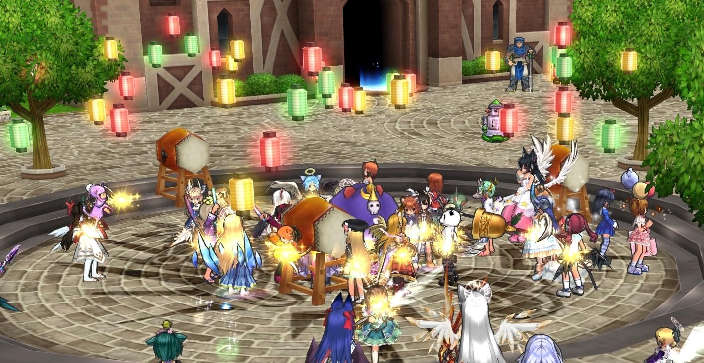 008_なぜか盆踊りが始まった!
