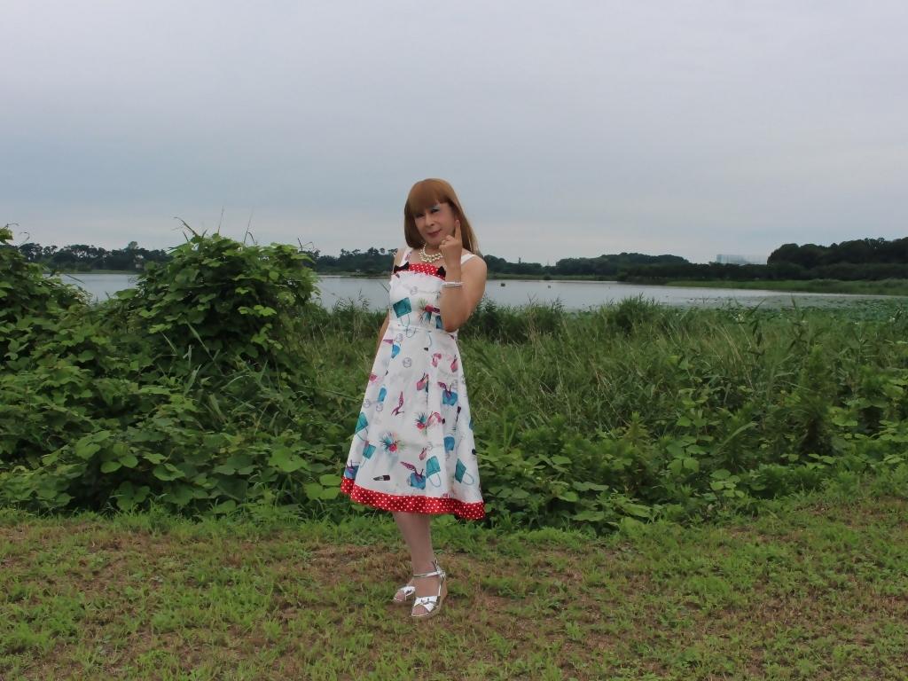 リゾートワンピ湖畔にてA(2)