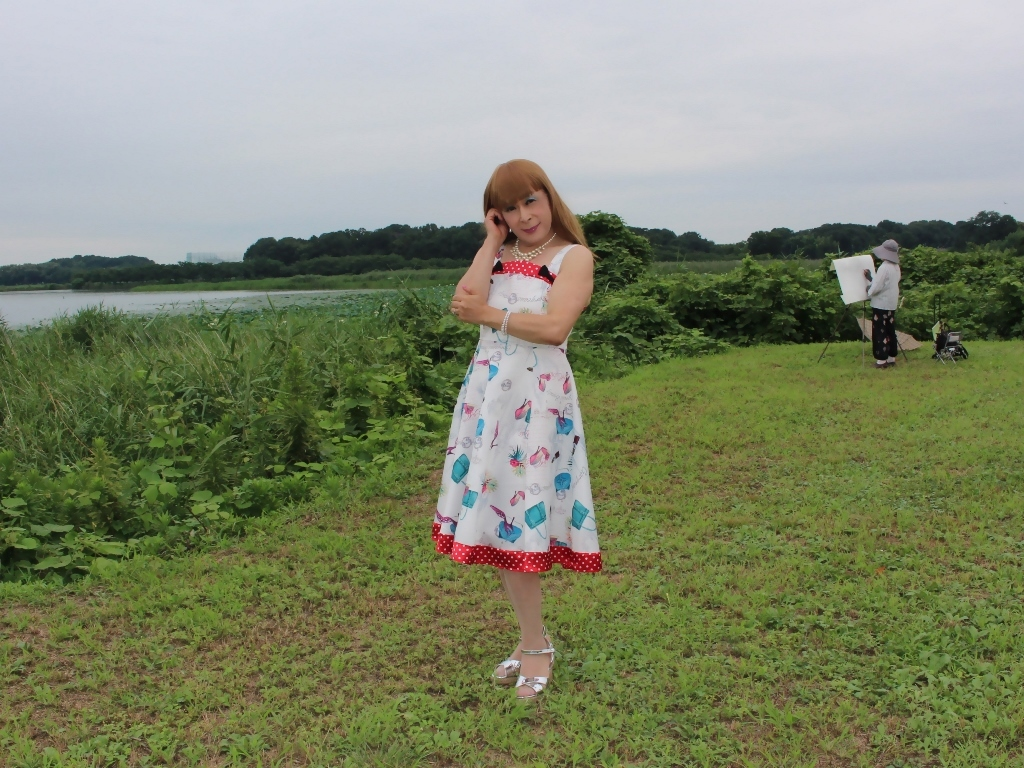 リゾートワンピ湖畔にてA(3)