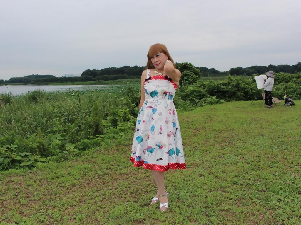 リゾートワンピ湖畔にてA(4)