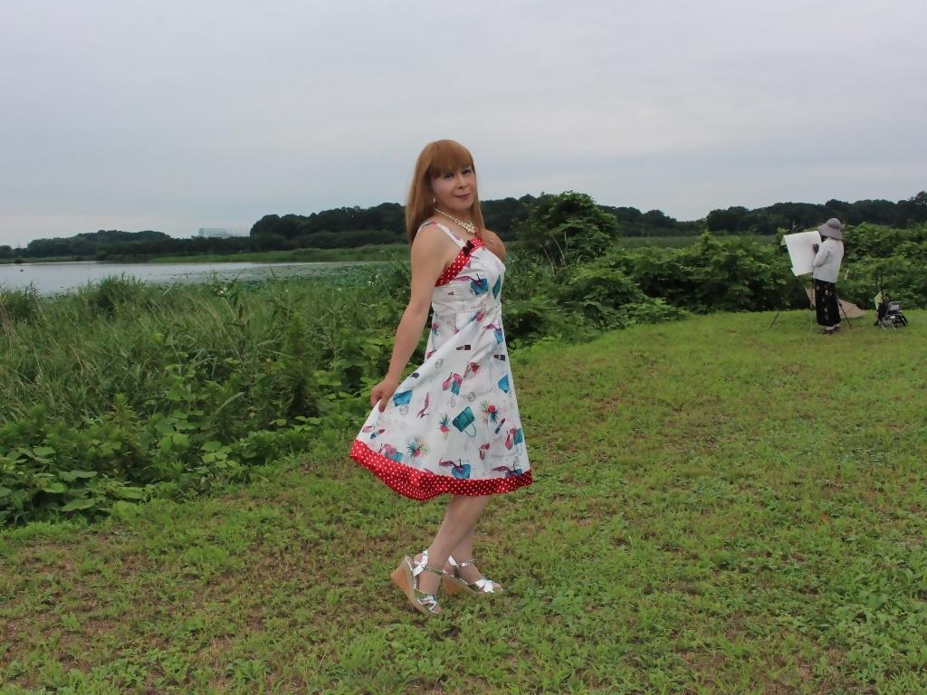 リゾートワンピ湖畔にてA(5)