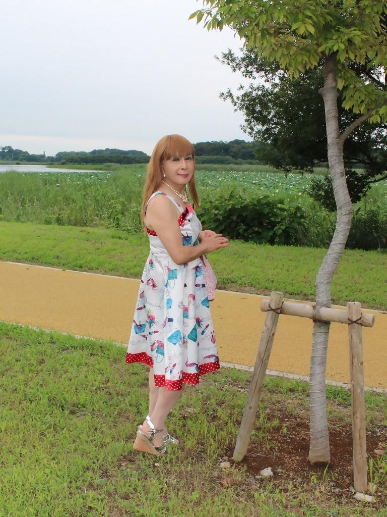 リゾートワンピ湖畔にてB(4)