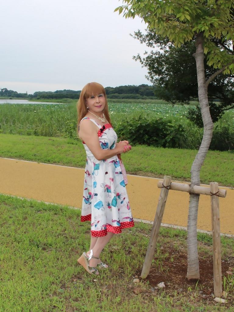 リゾートワンピ湖畔にてB(5)