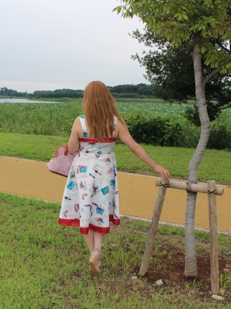 リゾートワンピ湖畔にてB(6)