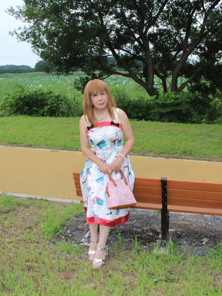 リゾートワンピ湖畔にてB(7)