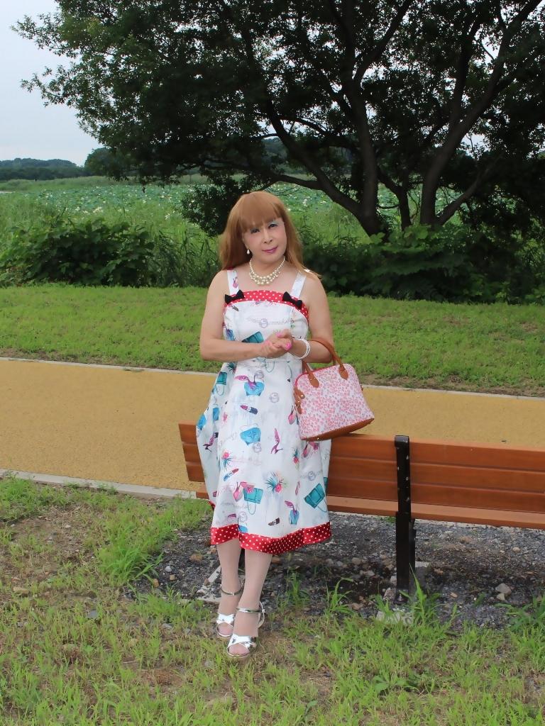 リゾートワンピ湖畔にてB(8)