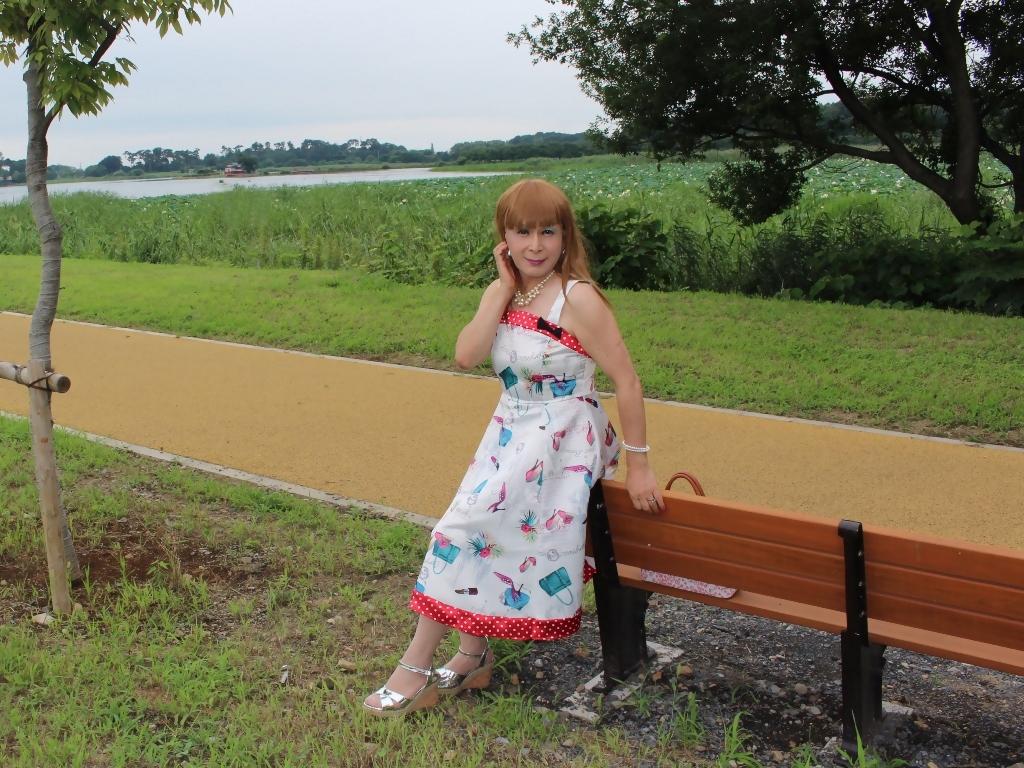 リゾートワンピ湖畔にてB(10)