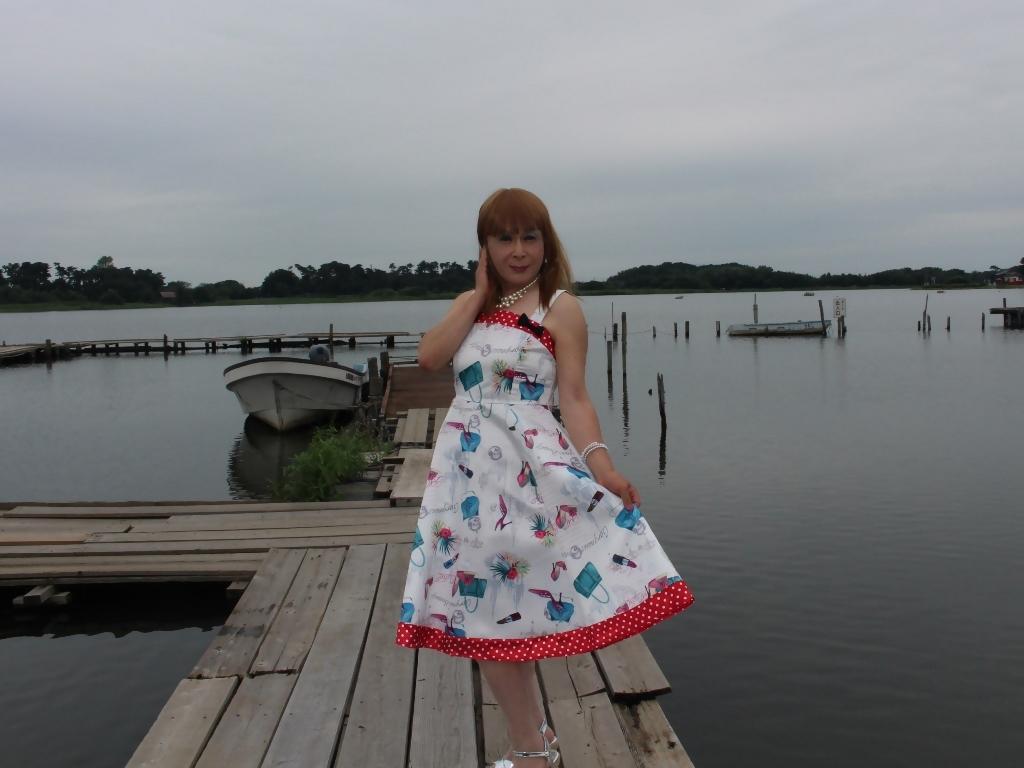 リゾートワンピ湖畔にてC(4)