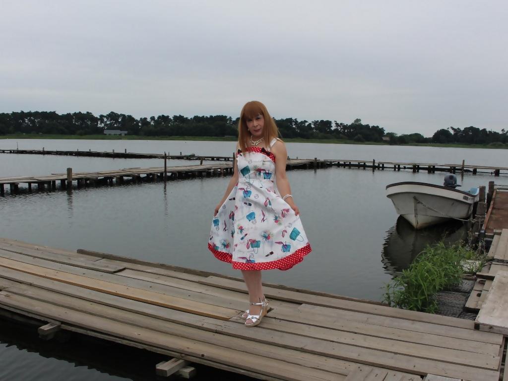 リゾートワンピ湖畔にてC(5)