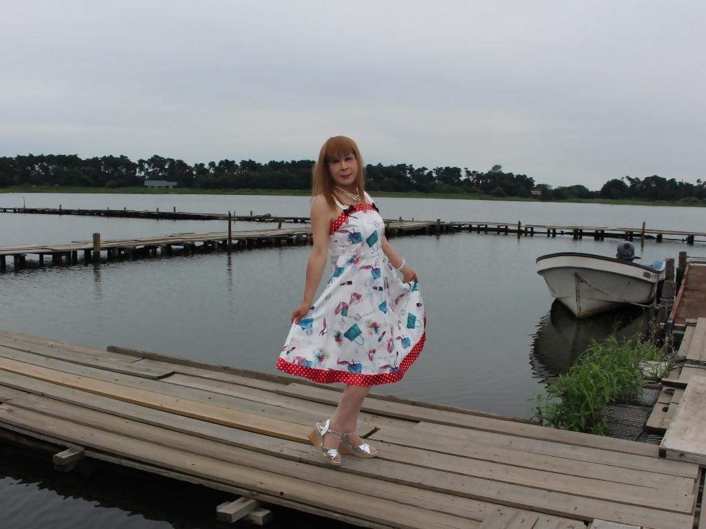 リゾートワンピ湖畔にてC(6)