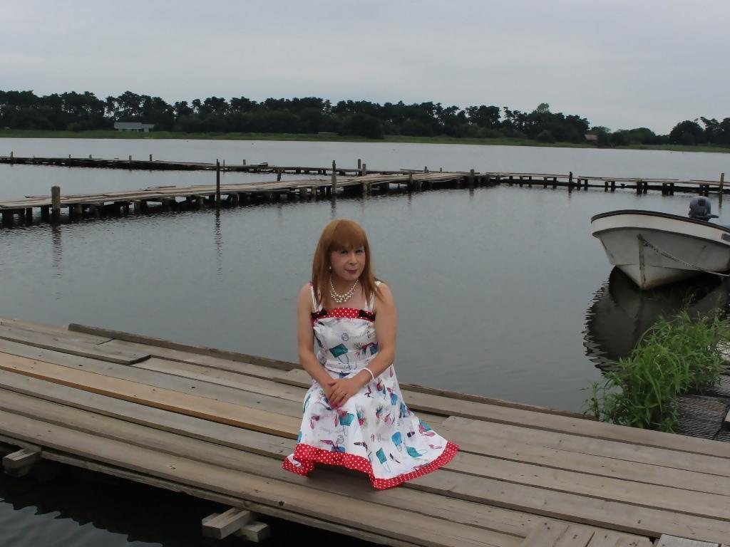 リゾートワンピ湖畔にてC(7)