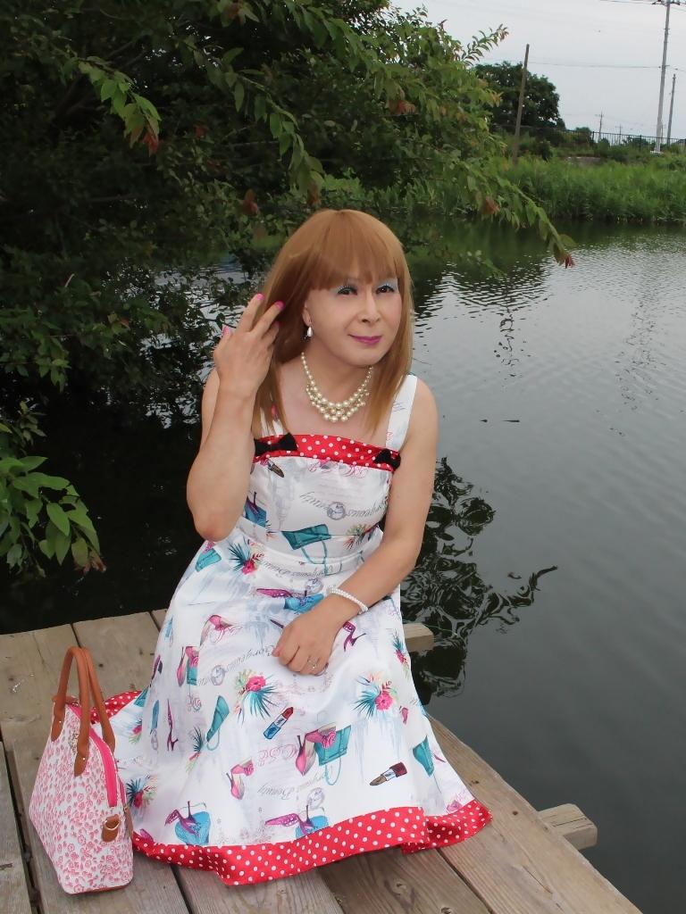 リゾートワンピ湖畔にてD(1)