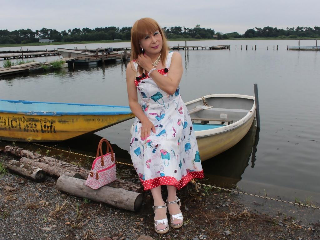 リゾートワンピ湖畔にてD(4)