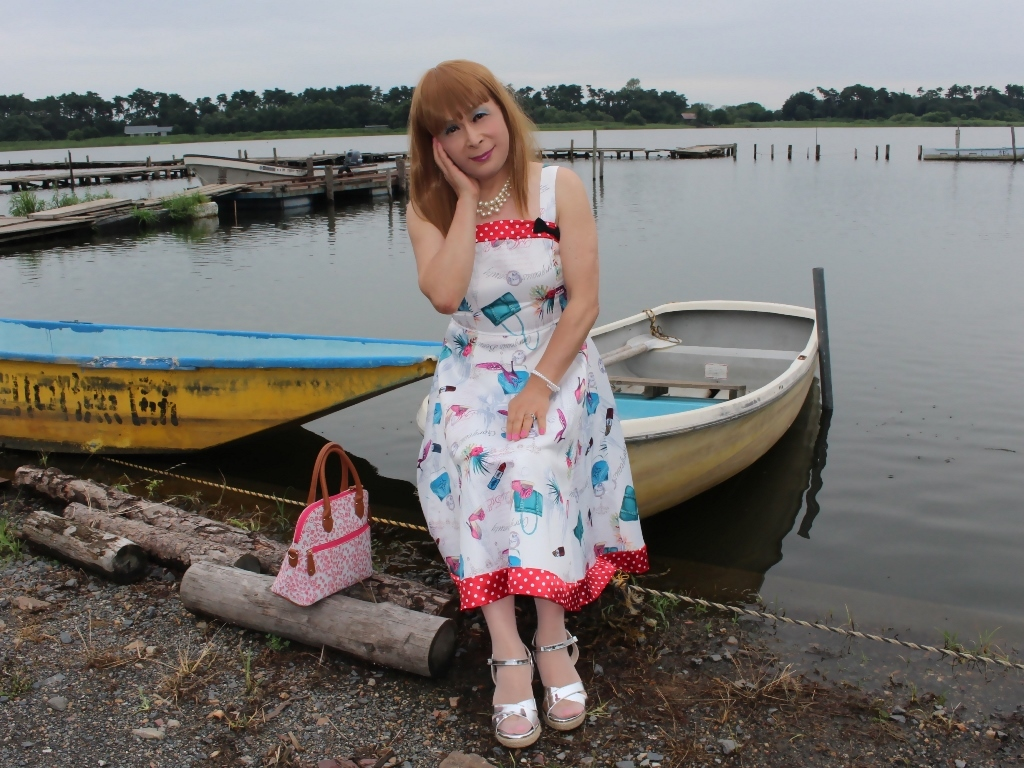 リゾートワンピ湖畔にてD(5)