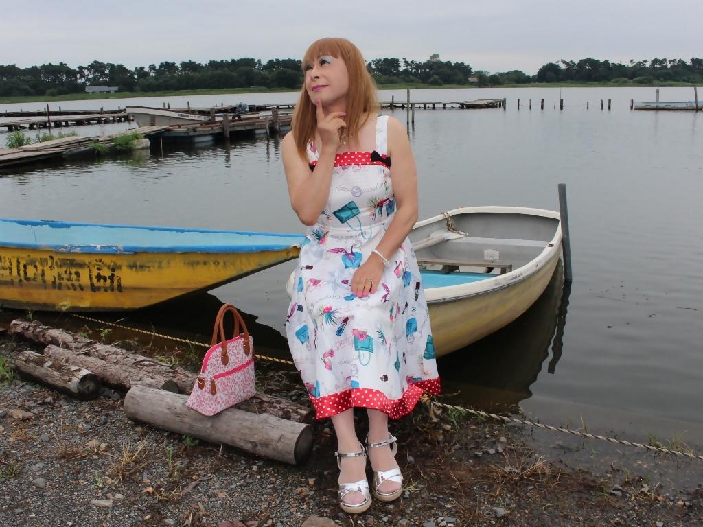 リゾートワンピ湖畔にてD(6)