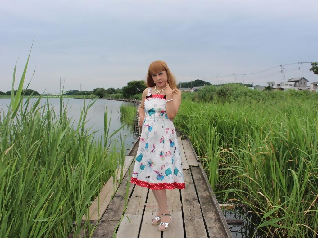 リゾートワンピ湖畔にてE(1)