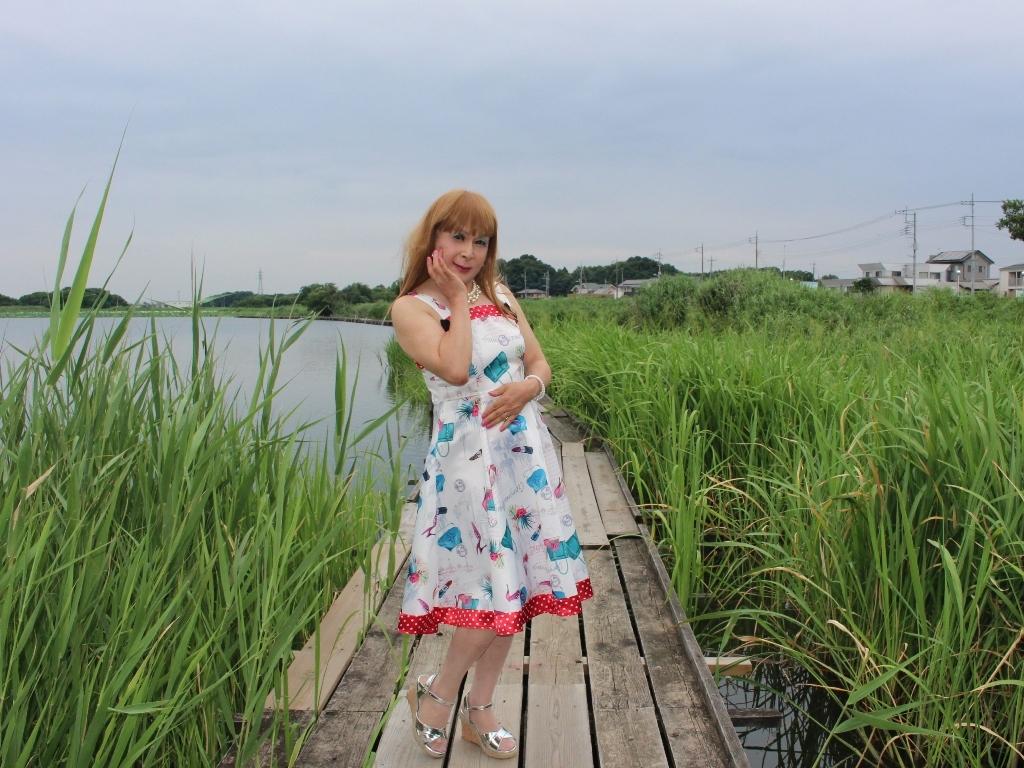 リゾートワンピ湖畔にてE(2)