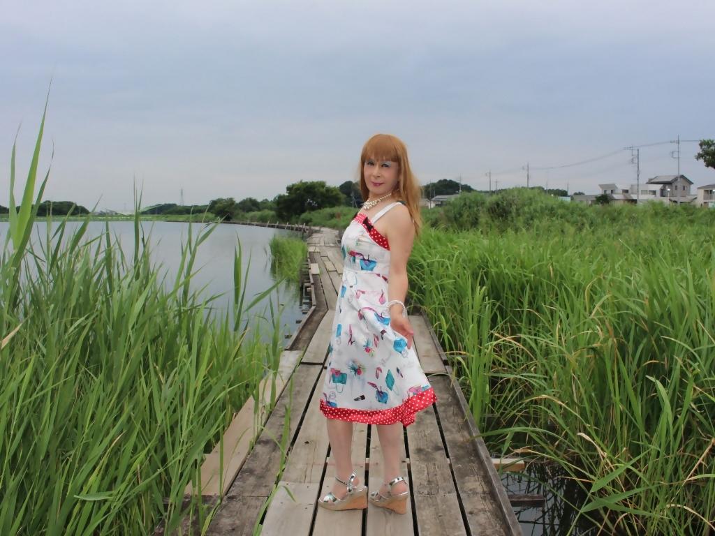 リゾートワンピ湖畔にてE(4)