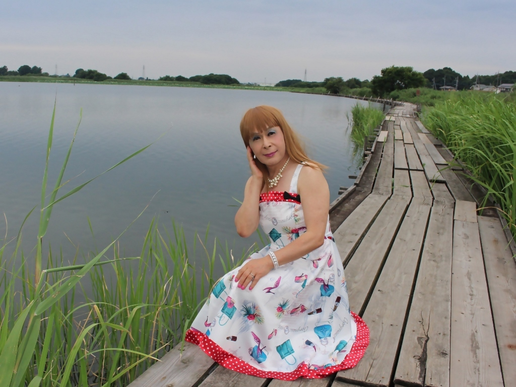 リゾートワンピ湖畔にてE(8)
