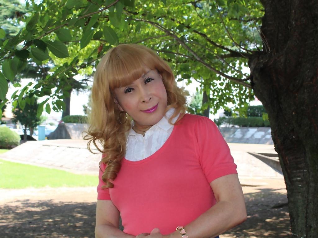 ピンクのトップスデニムミニスカC(7)