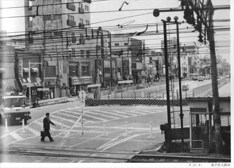 南千住の開かずの踏切(1982年)