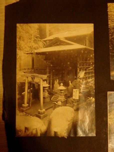 重箱の敷地内にあった「重箱稲荷」