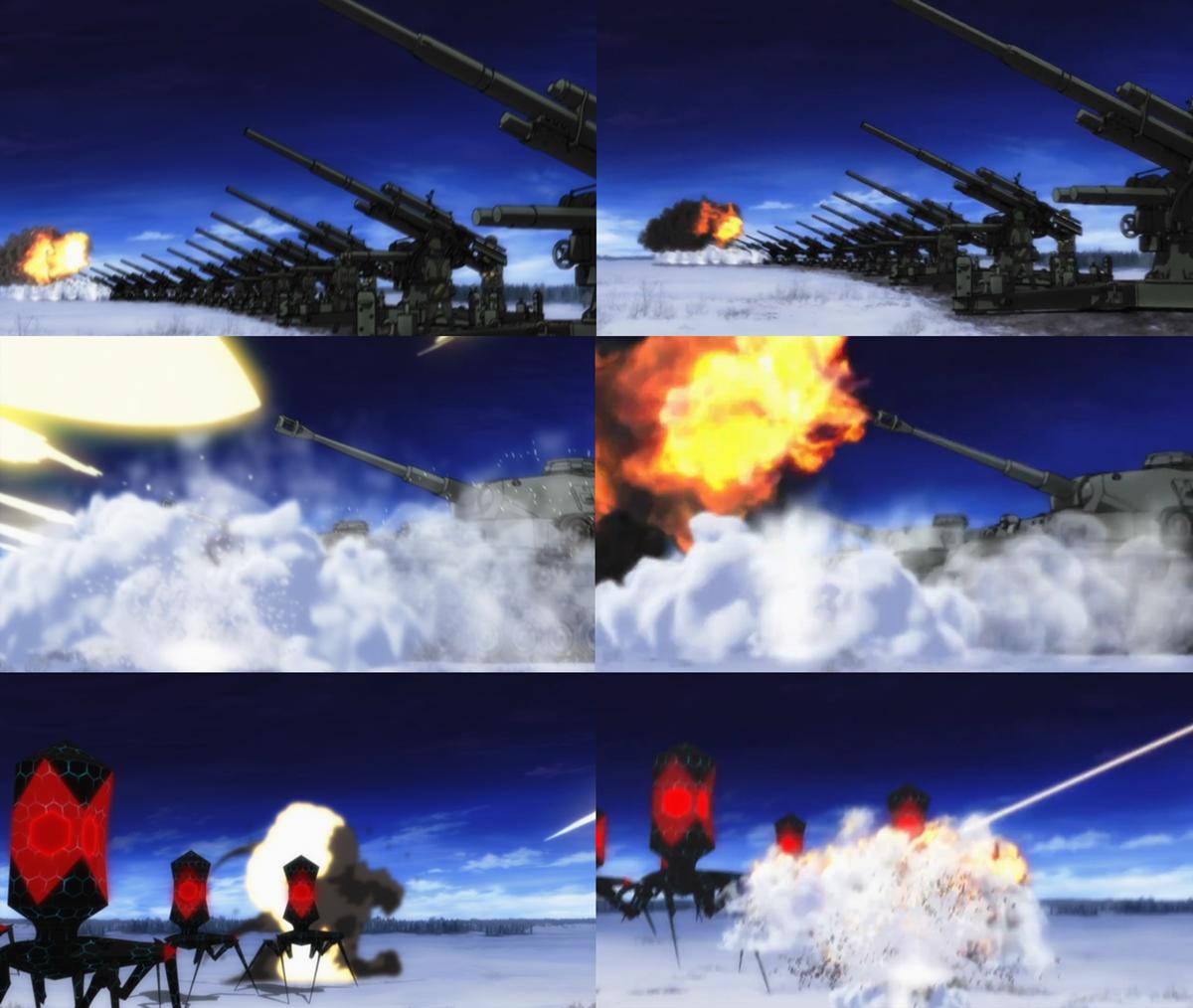 39カメラワーク砲撃スピード変更