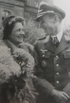 Günther Rall, Hertha Schön