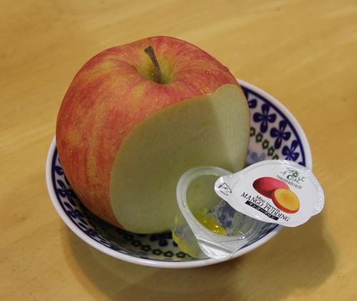 リンゴとマンゴープリン