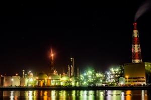 H29.8.14 四日市工場夜景➀