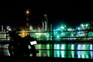 H29.8.14 四日市工場夜景➁