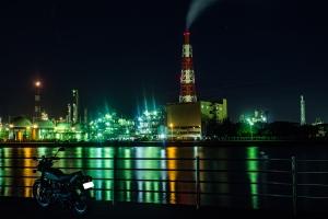H29.8.14 四日市工場夜景➂