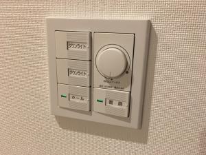 調光調色機能付きスイッチ