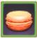 オレンジ味マカロン