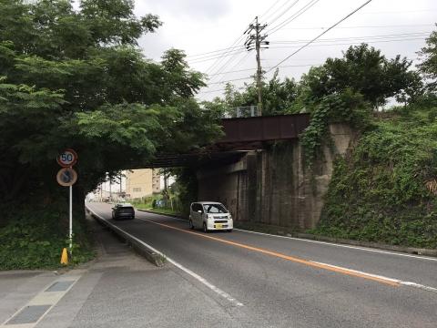 鷹来線鉄橋跡20170728