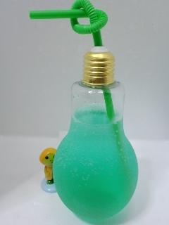 電球ボトル ライト付き