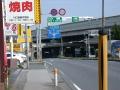 122号・川口ジャンクション方向を見る ② 安楽亭脇西新井宿 921