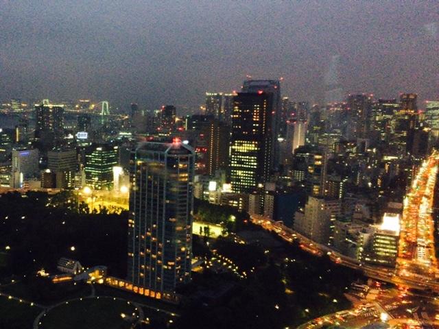 夜景_東京タワーより