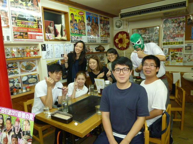 台湾の留学生 徳島文理大学