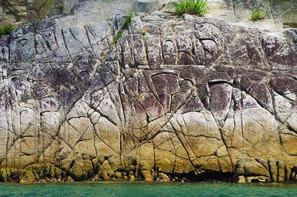 野島の岩礁(1)