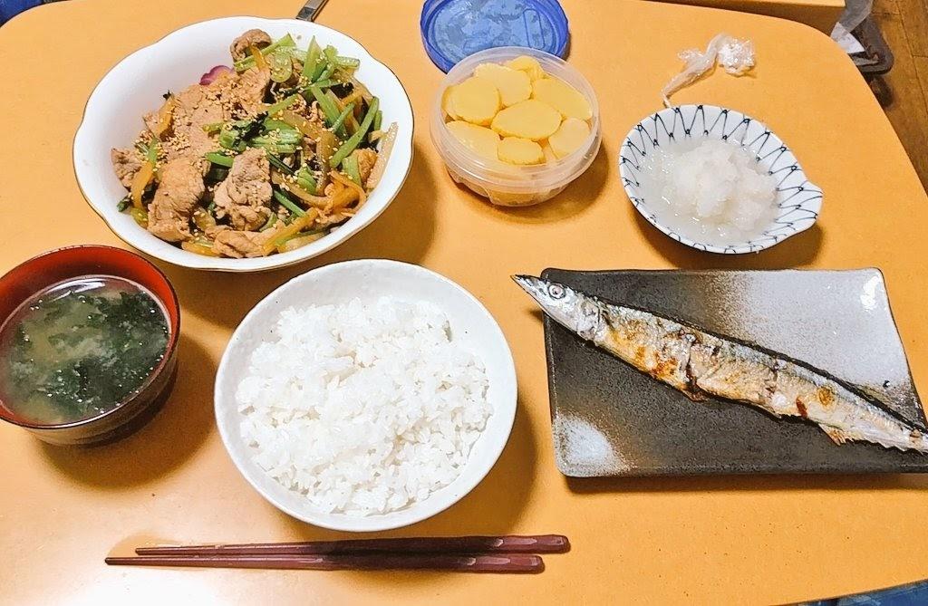 典型的な日本の昼食