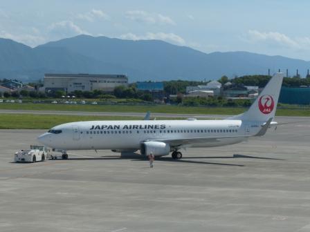 JAL 飛行機 1