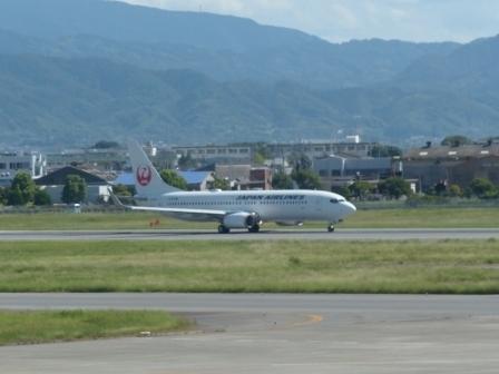 JAL 飛行機 2