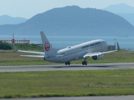 JAL 飛行機 3