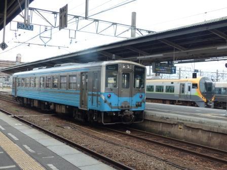JR松山駅 キハ54形気動車 2
