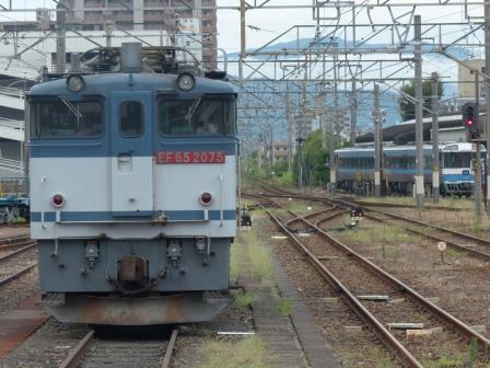 JR松山駅 EF-65